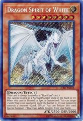 Dragon Spirit of White - LCKC-EN018 - Secret Rare - Unlimited Edition