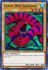 Giant Red Seasnake - LCKC-EN097 - Ultra Rare - Unlimited Edition