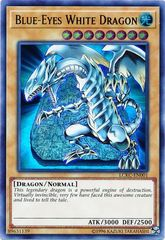Blue-Eyes White Dragon (Version 4) - LCKC-EN001 - Ultra Rare - Unlimited Edition