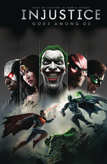 Injustice Gods Among Us Year One Deluxe Ed Hc Book 01 (JUN180580)