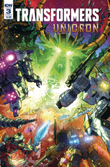 Transformers Unicron #3 (Of 6) Cvr A Milne (JUN180646)