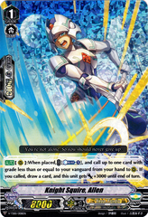 Knight Squire, Allen - V-TD01/008EN - Foil - RRR on Channel Fireball