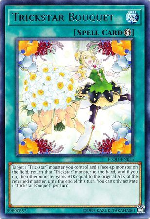 Trickstar Bouquet - FLOD-EN055 - Rare - Unlimited Edition