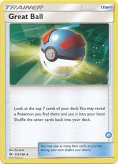 Great Ball - 119/149 - Uncommon (Ninetales deck 21)
