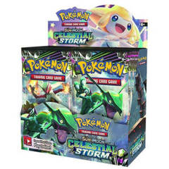 Celestial Storm Booster Box on Channel Fireball