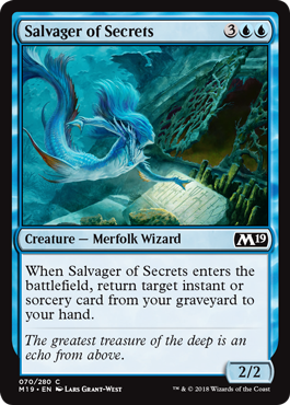 Salvager of Secrets - Foil