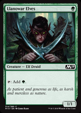 Llanowar Elves - Planeswalker Deck Exclusive