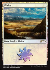 Plains (001/005) - FOIL Promo 2018 Standard Showdown Alayna Danner