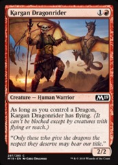 Kargan Dragonrider - Planeswalker Deck Exclusive