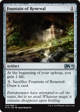 Fountain of Renewal - Foil