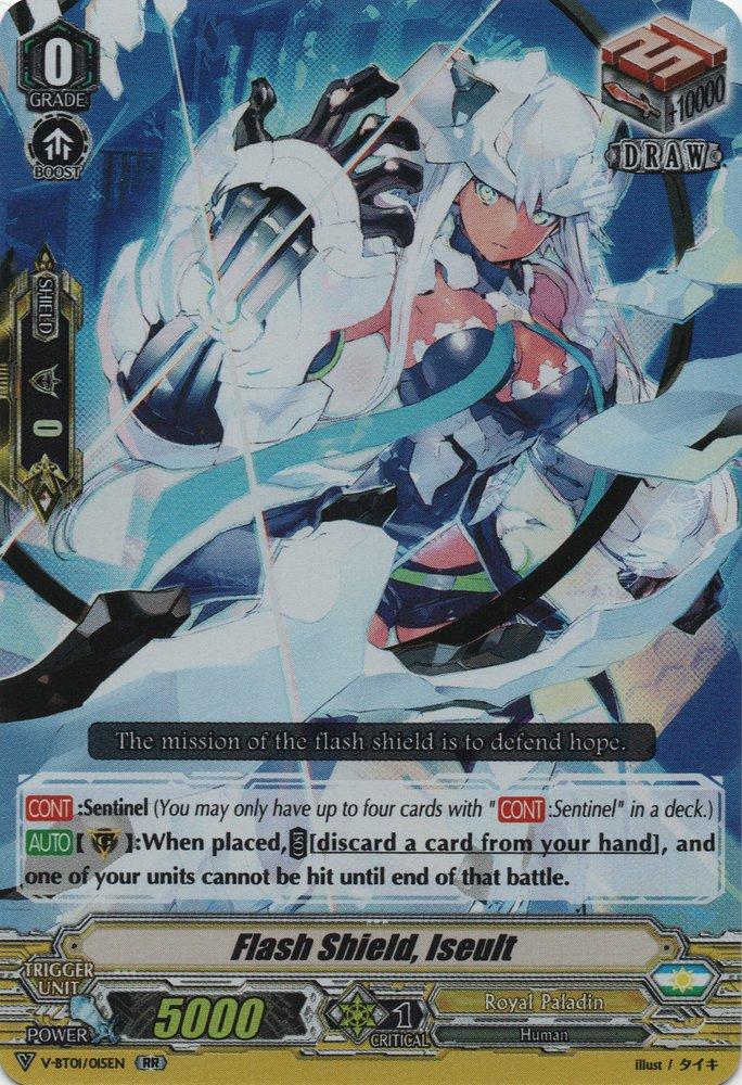 Flash Shield, Iseult - V-BT01/015EN - RR