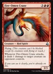 Fire-Omen Crane on Channel Fireball