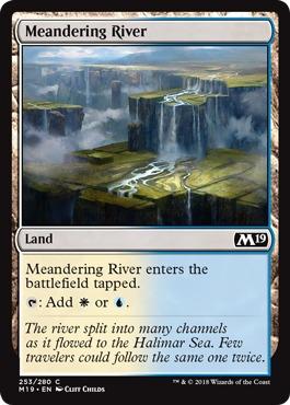 Meandering River - Foil