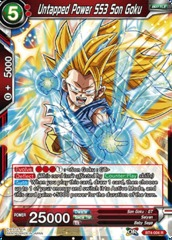Untapped Power SS3 Son Goku - BT4-004 - R
