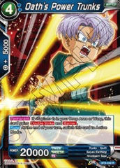 Trunks BT4-023 FOIL Uncommon Dragon Ball Super TCG Near Mint Iron Vow Trunks