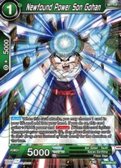 Newfound Power Son Gohan (Foil) - BT4-048 - UC