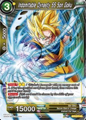 Indomitable Dynasty SS Son Goku - BT4-077 - UC