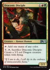 Draconic Disciple - Foil