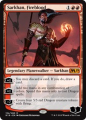 Sarkhan, Fireblood on Channel Fireball