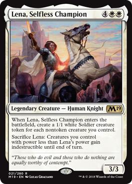 Lena, Selfless Champion - Foil