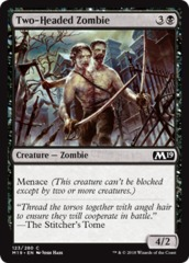 Two-Headed Zombie - Foil
