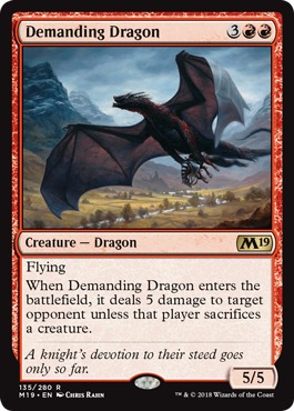 Demanding Dragon - Foil