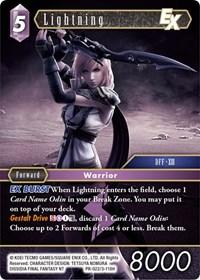 Lightning EX (Alternate Art Promo) - PR-022/3-118H - Foil