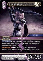 Lightning EX - PR-022/3-118H - Foil - Alternate Art Promo