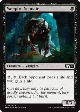Vampire Neonate
