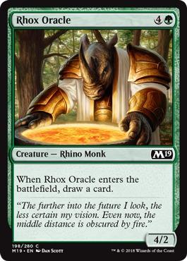Rhox Oracle - Foil