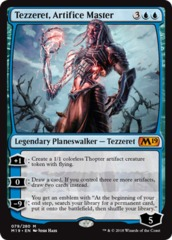 Tezzeret, Artifice Master - Foil on Channel Fireball