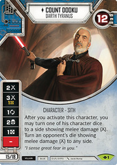 Count Dooku - Darth Tyranus