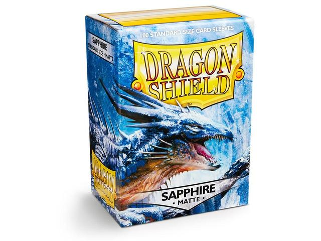 Dragon Shield Box of 100 in Matte Sapphire