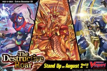V Extra Booster 01: The Destructive Roar Booster Case