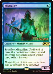Mistcaller (Core Set 2019 Prerelease Foil)