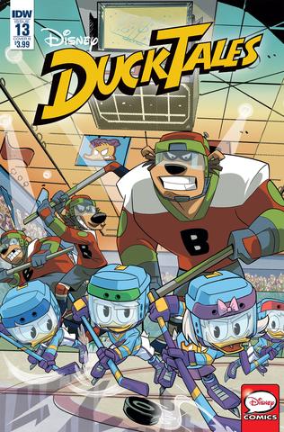 Ducktales #13 Cvr B Ghiglione (STL091228)