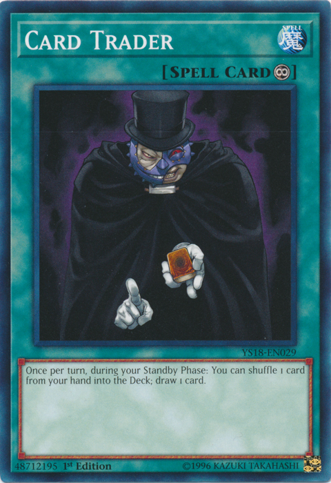 Card Trader - YS18-EN029 - Common - 1st Edition
