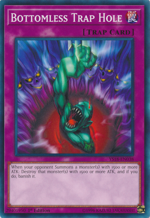 Bottomless Trap Hole - YS18-EN038 - Common - 1st Edition