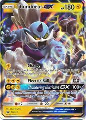 Thundurus GX - SM133 - Sun & Moon Promo Black Star