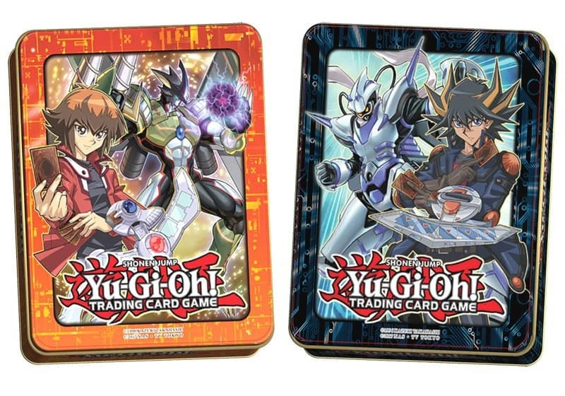 2018 Mega-Tins Set of Two - Jaden Yuki & Yusei Fudo