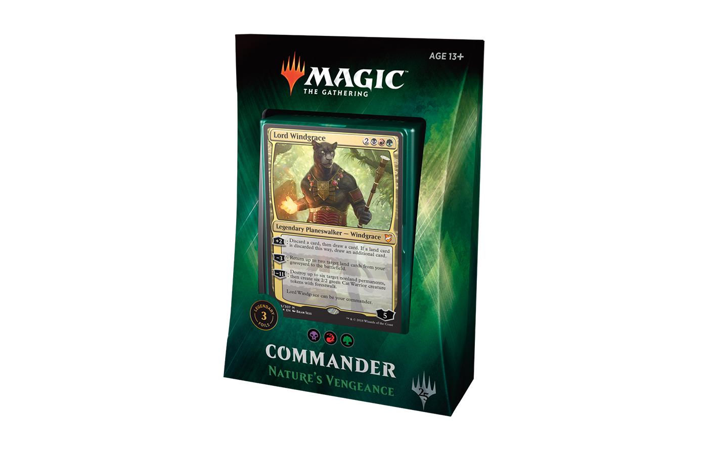 Commander 2018: Natures Vengeance