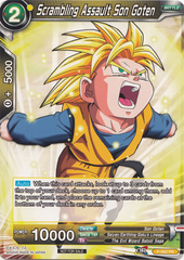 Scrambling Assault Son Goten - P-062 - Promotion Cards