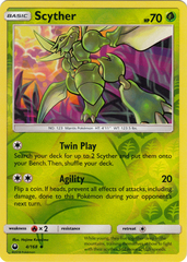 Scyther - 4/168 - Uncommon - Reverse Holo