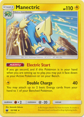 Manectric - 52/168 - Rare