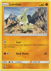 Larvitar - 74/168 - Common