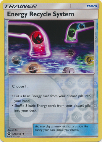 Energy Recycle System - 128/168 - Uncommon - Reverse Holo