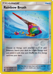 Rainbow Brush - 141/168 - Uncommon - Reverse Holo