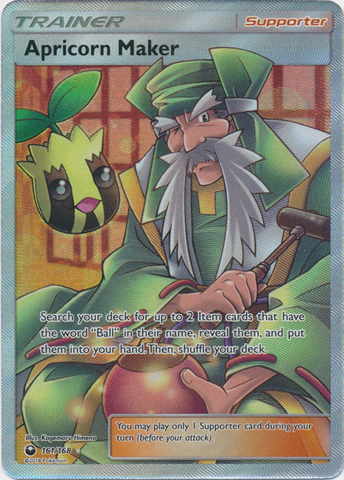 Apricorn Maker - 161/168 - Ultra Rare - Full Art