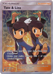 Tate & Liza - 166/168 - Ultra Rare - Full Art