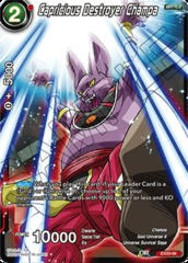 Capricious Destroyer Champa - EX03-06 - EX